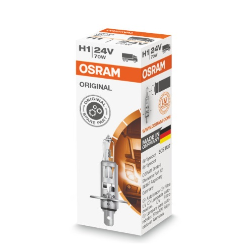 OSRAM Original halogénizzó H1 24V, doboz